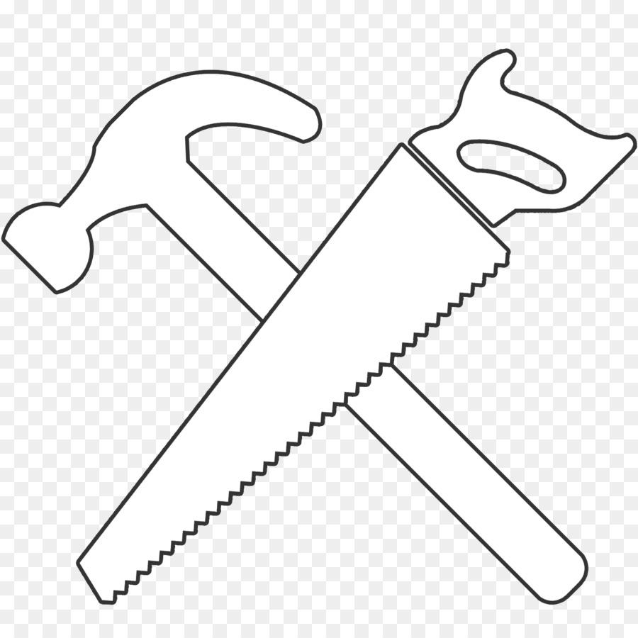 Hammer saw clipart 3 » Clipart Station.