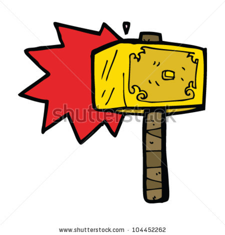 Thors Hammer Stock Images, Royalty.