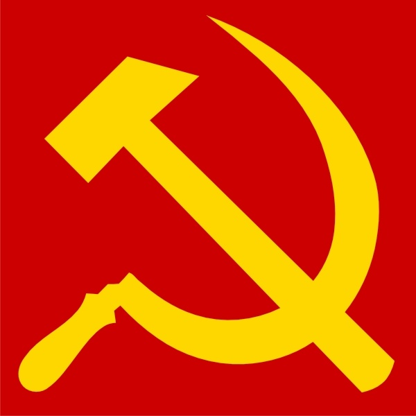 Hammer And Sickle clip art Free vector in Open office.