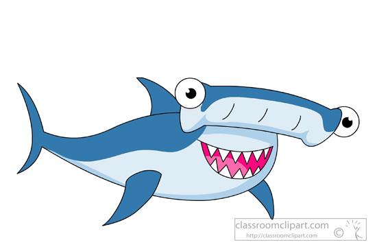 Clipart hammerhead shark.