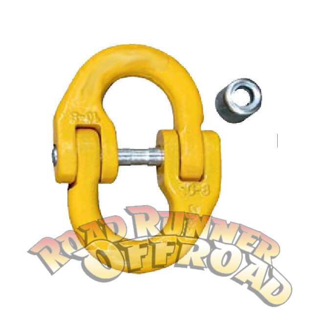 Hammer lock 10mm Chain Connecting link for Winch Cable Rope Hook.