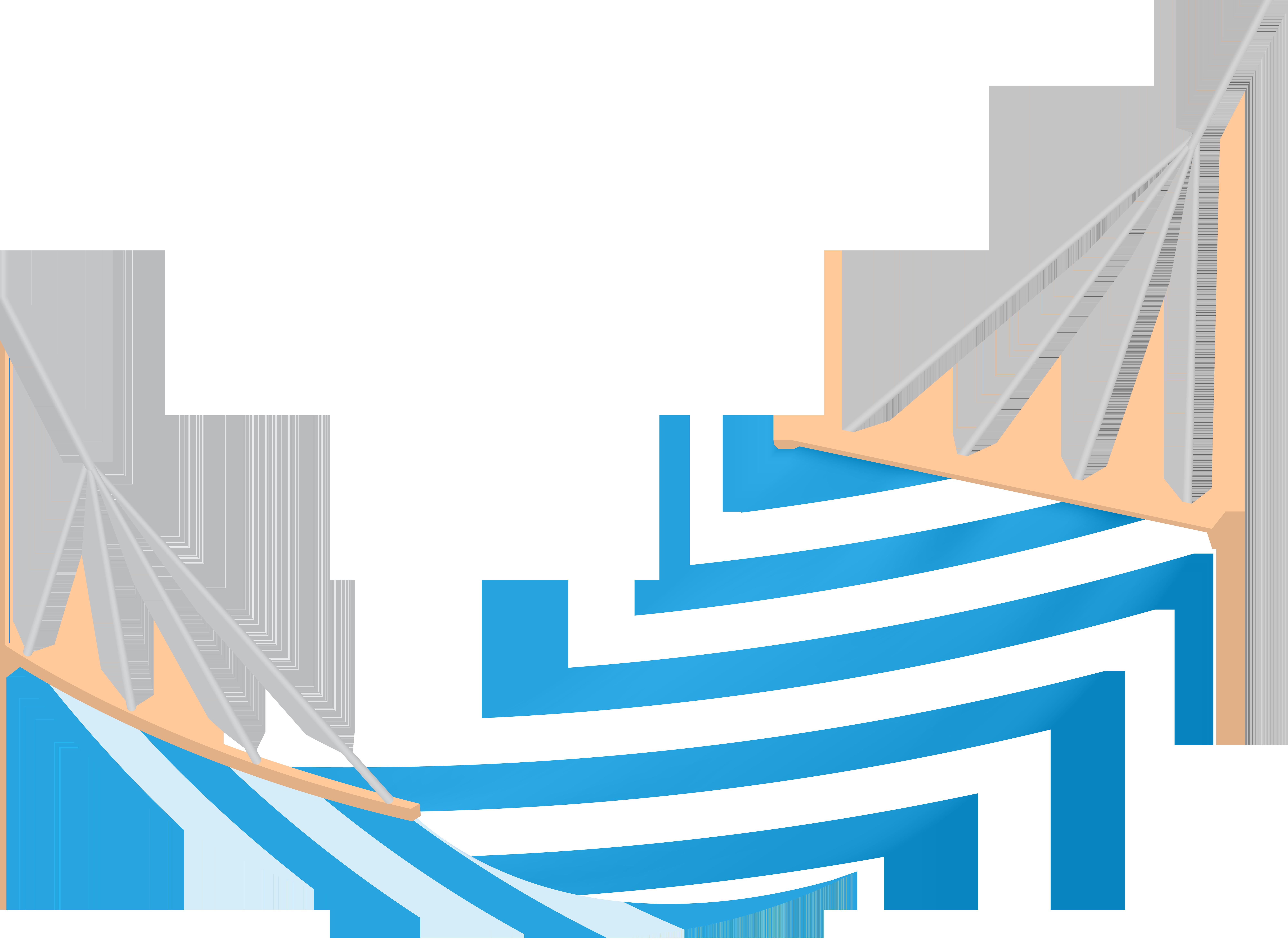 Summer Hammock Clip Art PNG Image.