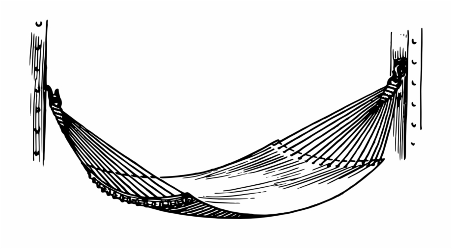 Free Hammock Clipart Black And White, Download Free Clip Art.
