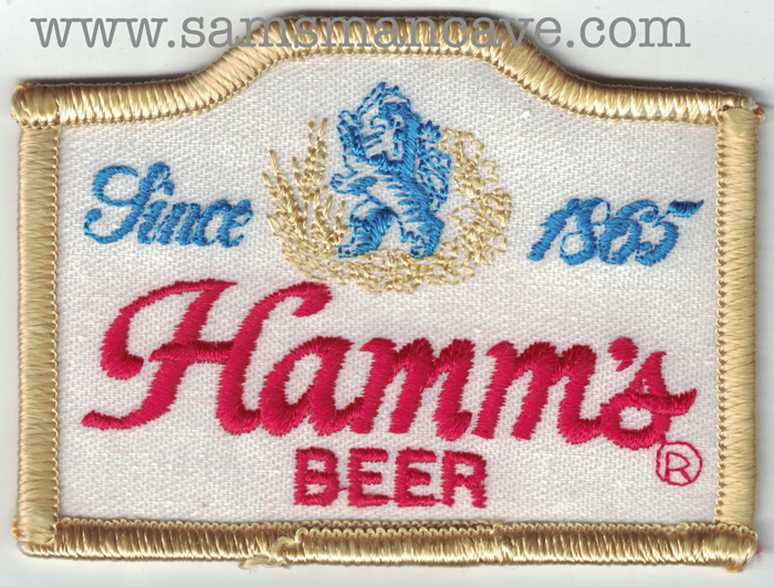 Hamms Beer Patch.