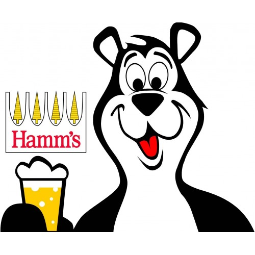 hamms beer bear logo 2.