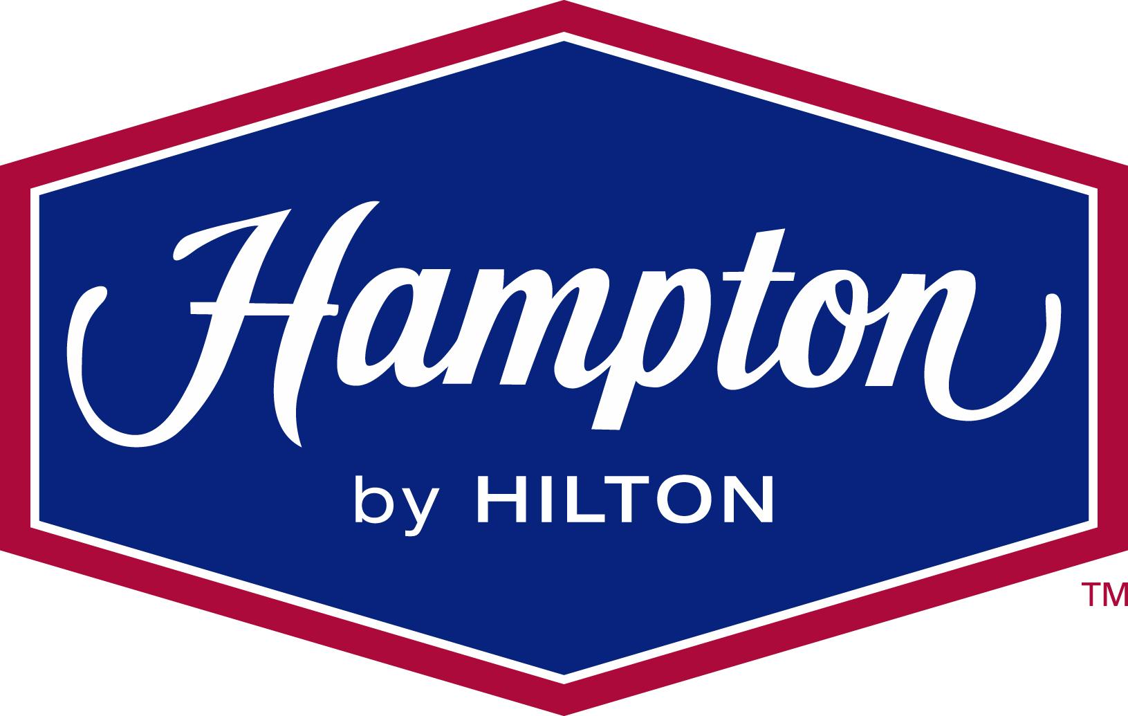 Hampton inn Logos.
