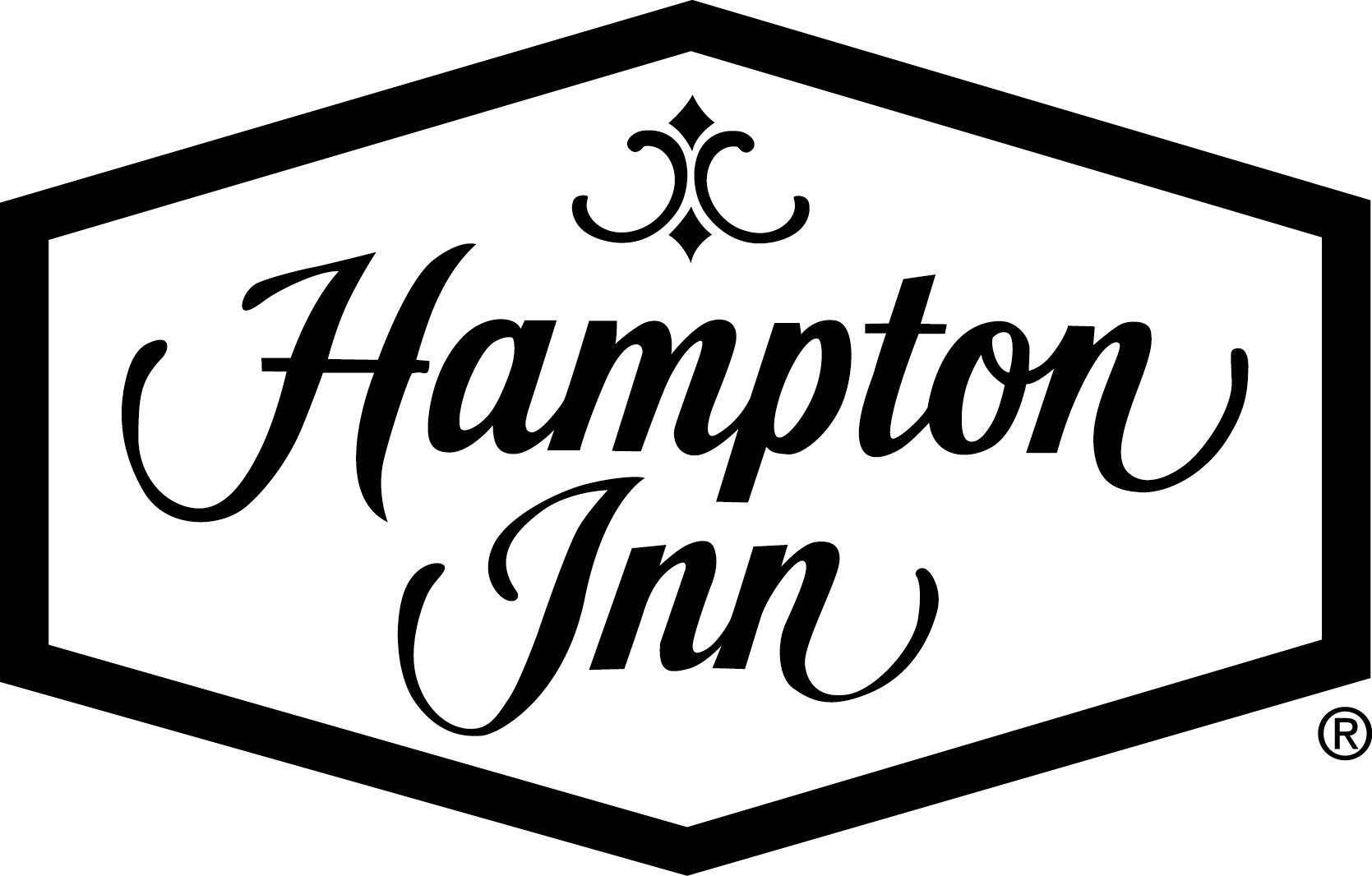 Logo Hampton Inn.