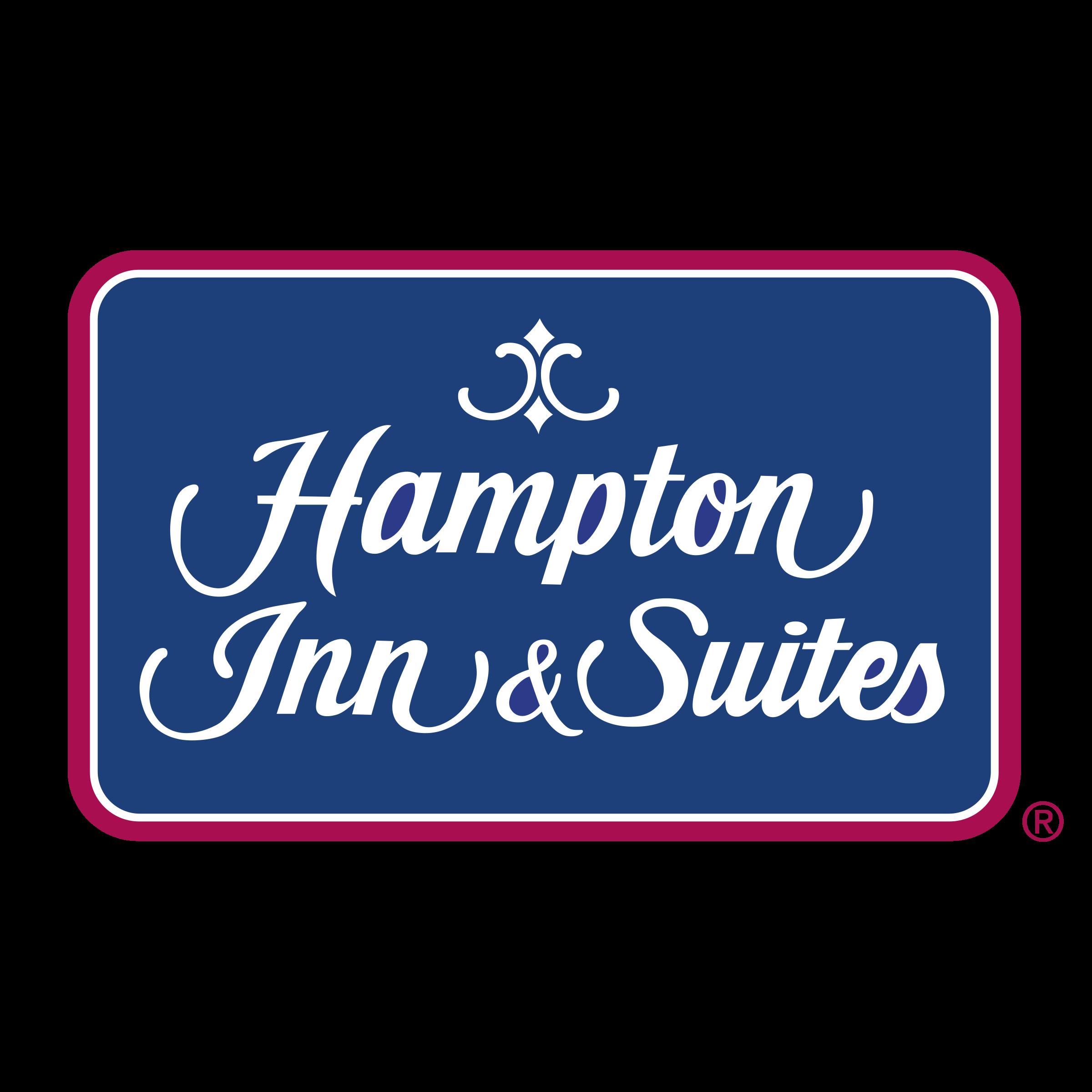 Hampton Inn & Suites Logo PNG Transparent & SVG Vector.