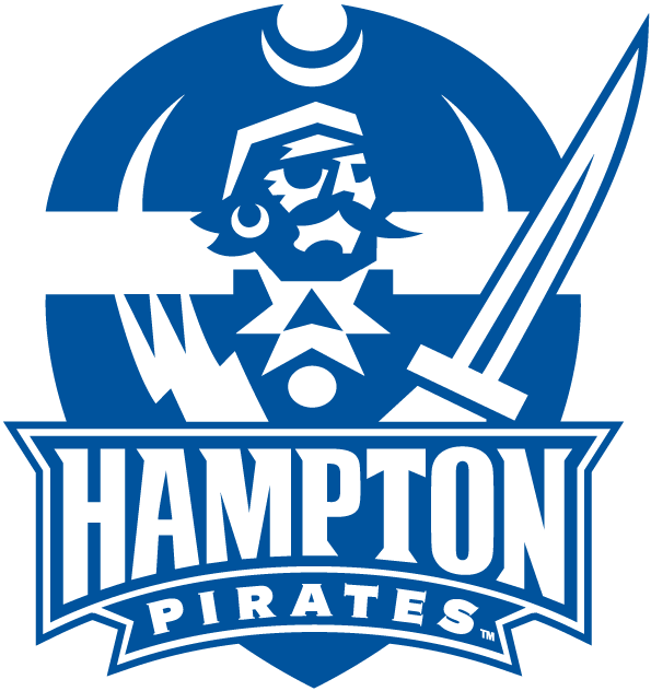 Hampton Pirates Primary Logo (2007).