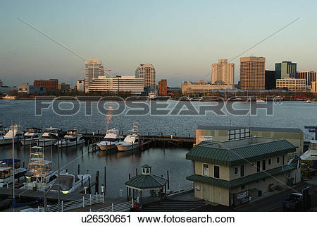 Stock Photography of Portsmouth, Norfolk, VA, Virginia, Hampton.