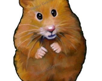 Hamster clip art.