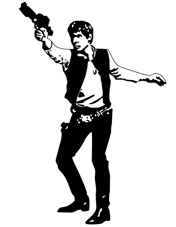 hans solo vector by DeepThoughtGraphics on DeviantArt.