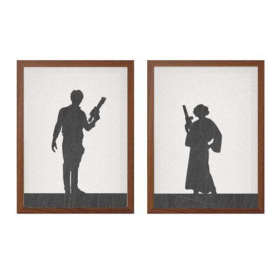 Han Solo Black Silhouette Clipart 20 Free Cliparts