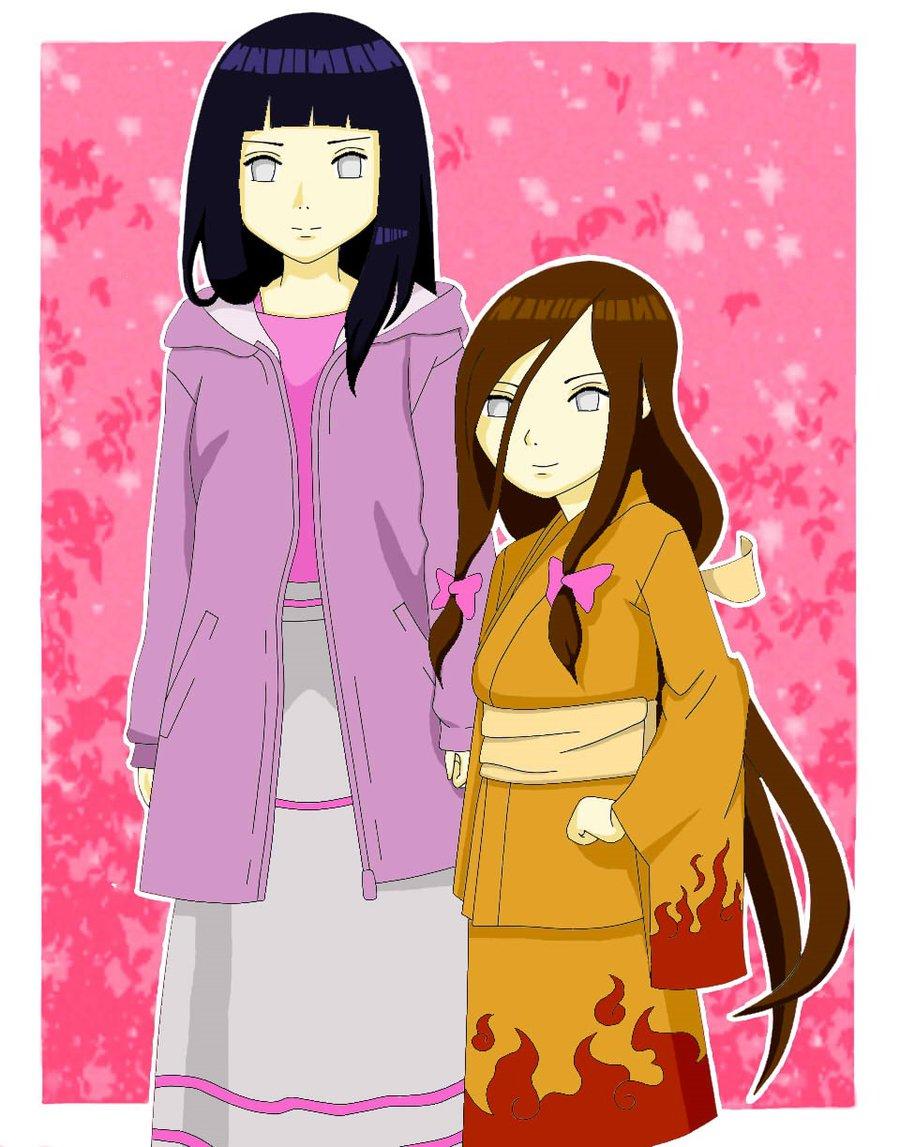 Hinata and Hanabi by hanekawa.