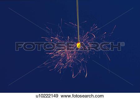 Stock Photograph of Senko Hanabi, Fireworks u10222149.