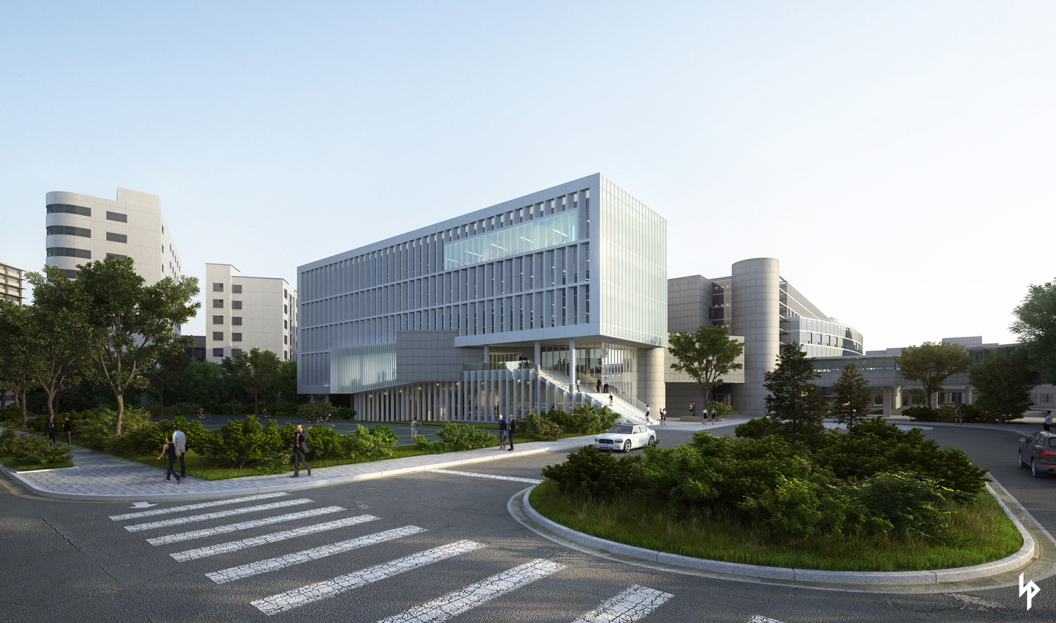 HANAM CITY HALL on Behance.
