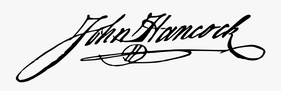 John Hancock Signature Png , Free Transparent Clipart.