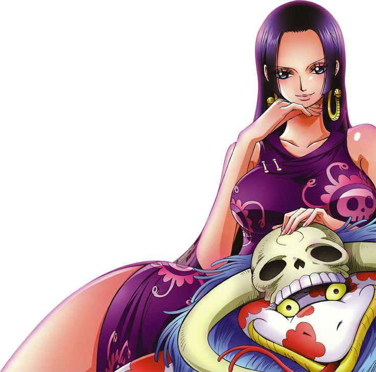Pirate Empress Boa Hancock.