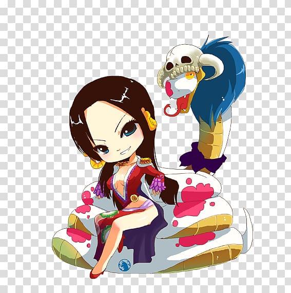 Boa Hancock Nico Robin One Piece Chibi Fate/Zero, one piece.