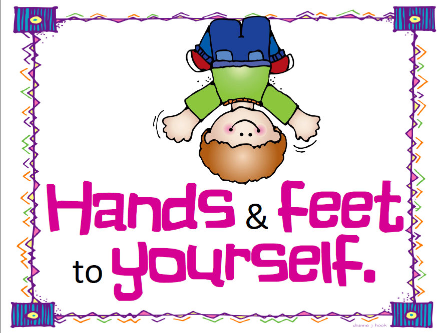 Hand And Feet Cute Clipart.