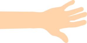 Hand and arm clipart.