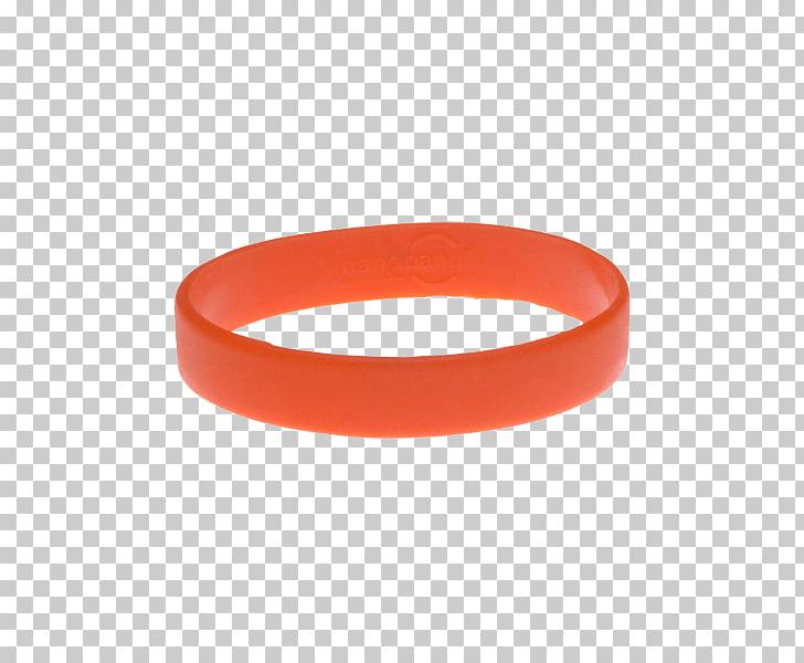 Wristband Gel bracelet Silicone Bangle, hand Band PNG.