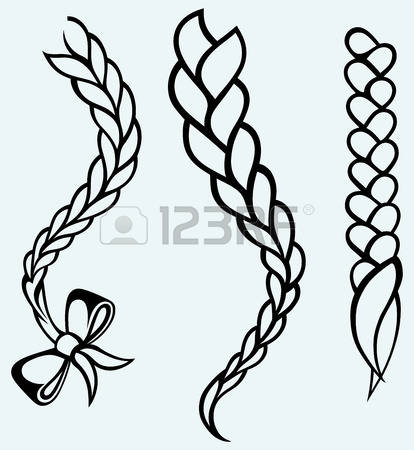 3,249 Hair Braid Cliparts, Stock Vector And Royalty Free Hair.
