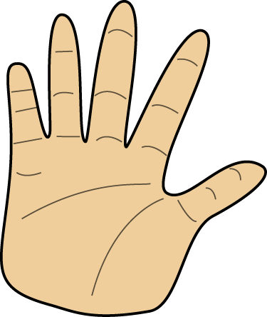 Hand Clipart.