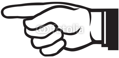 Pointing clipart hand logo, Pointing hand logo Transparent.