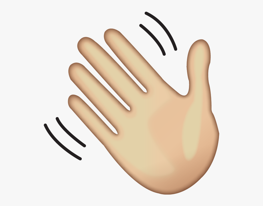 Hello Clipart Wave Hand.