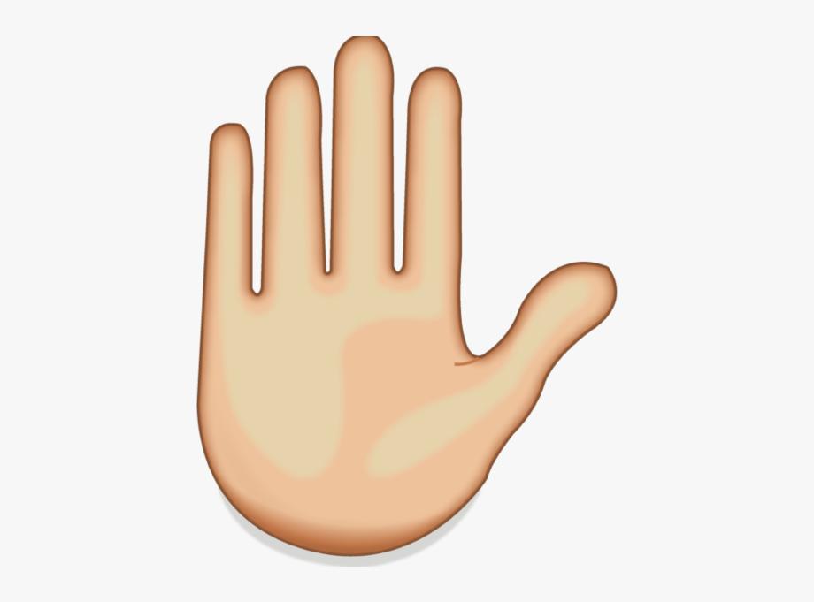 Hand Emoji.