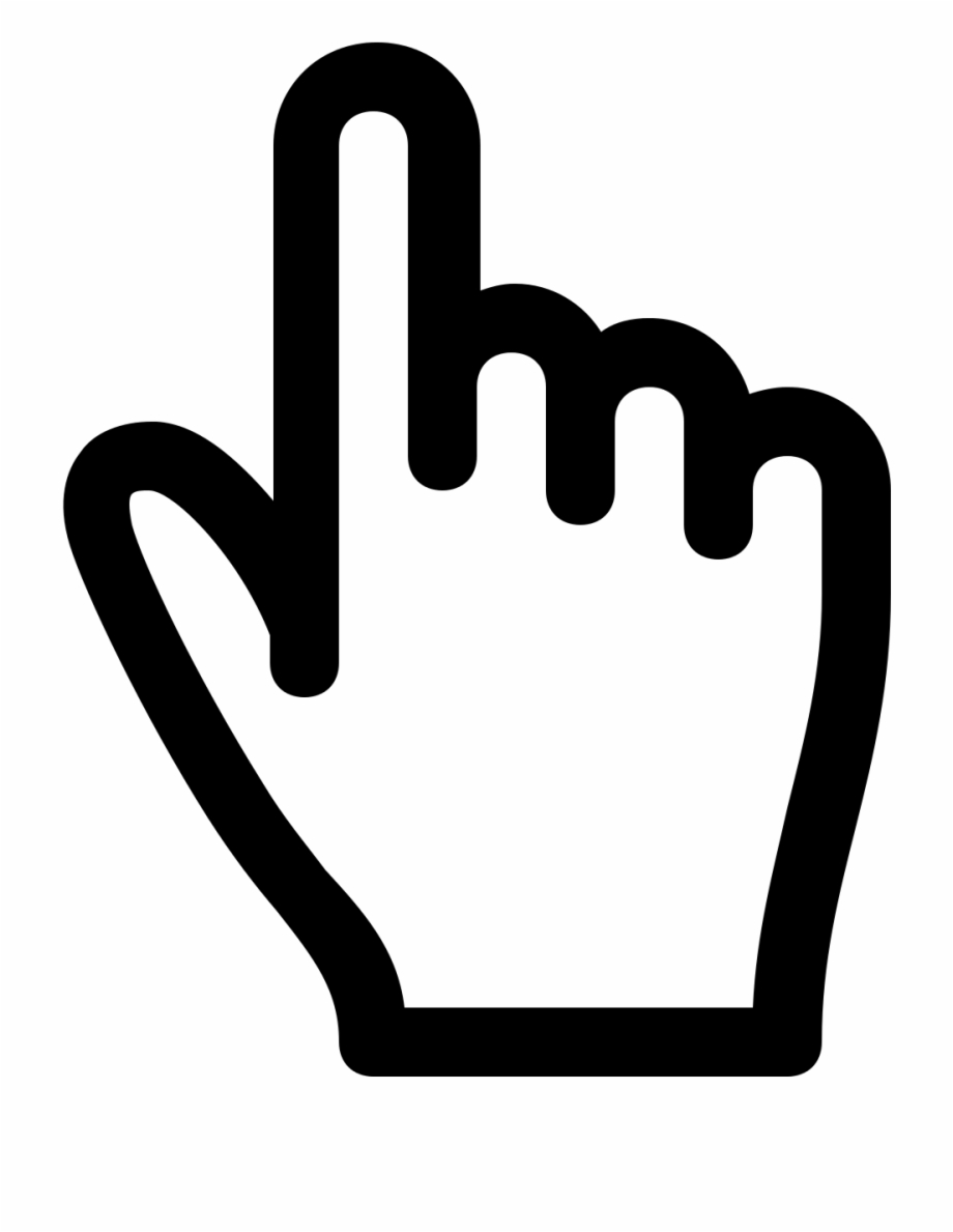 Download Free png Pointer Vector File Hand Cursor Png Free.