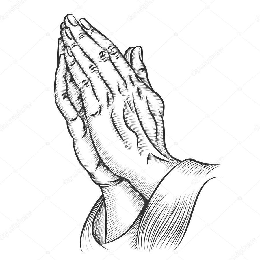 Praying Hands Drawing at PaintingValley.com.