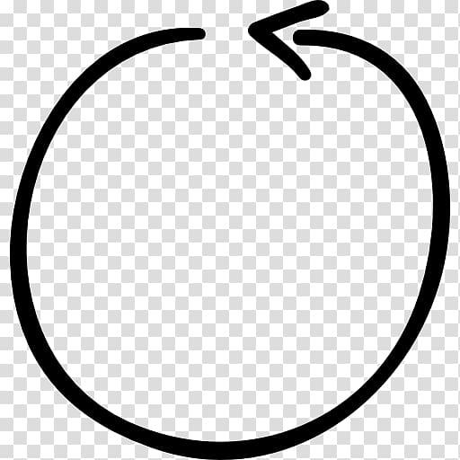 Round arrow , Circle Arrow Computer Icons Encapsulated.