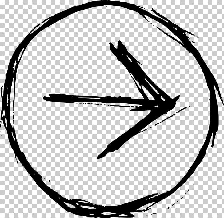 Drawing Circle , hand drawn PNG clipart.