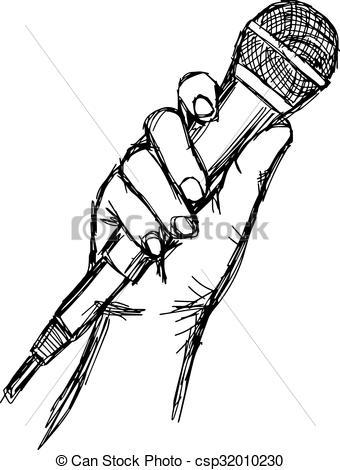 Vectors of illustration vector doodle hand drawn of sketch hand.