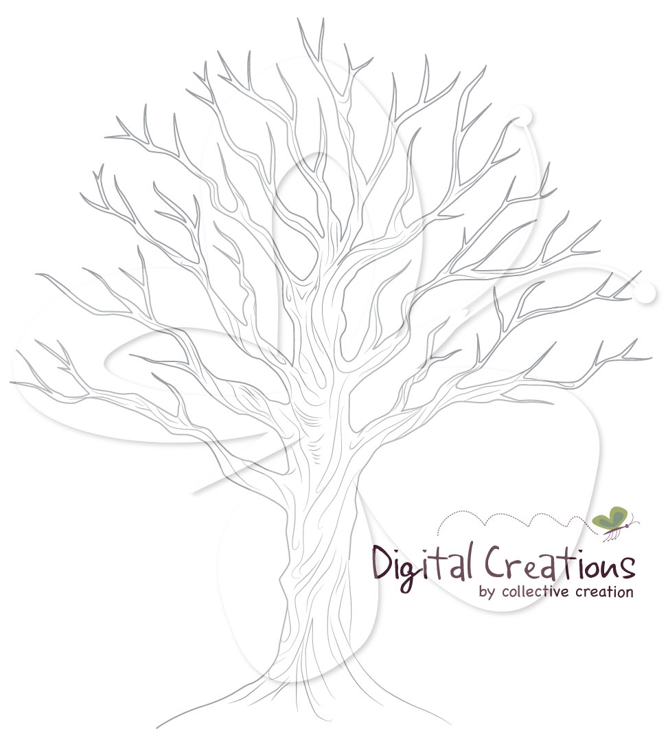 Hand Drawn Tree Clipart Clipground