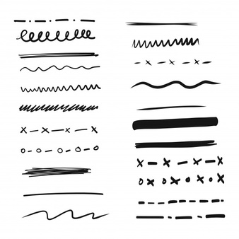 Handdrawn Lines Vectors, Photos and PSD files.