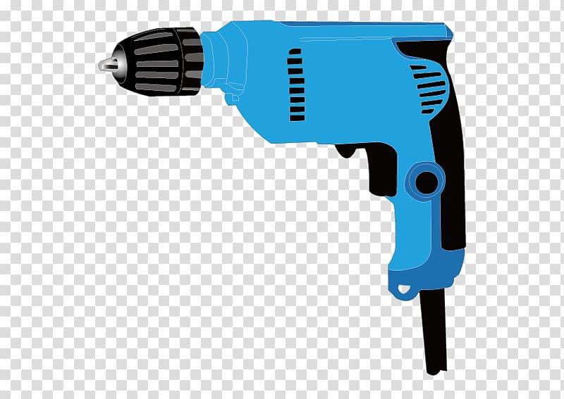 Hand tool Power tool Drill, power brick transparent.