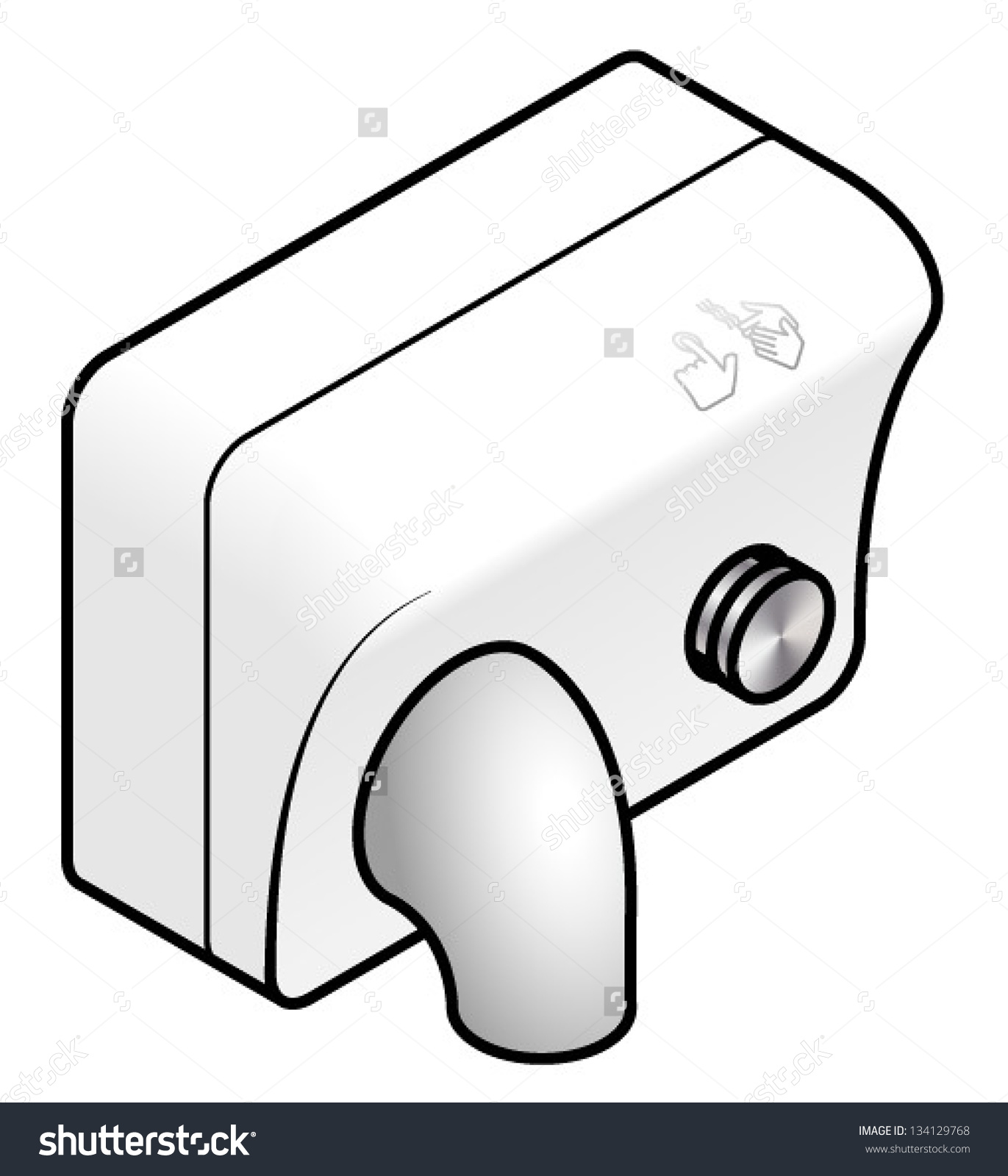 Hand Dryers Clipart Clipground