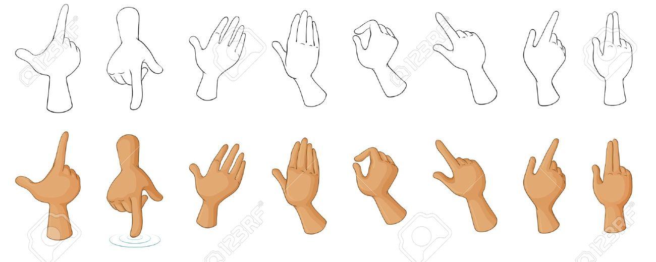 Hand Gesture Clipart.