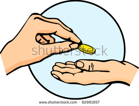 Hand Giving Money Symbol Stock Photos, Royalty.