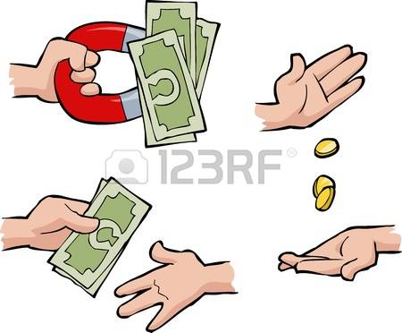 5,836 Hand Giving Money Stock Vector Illustration And Royalty Free.