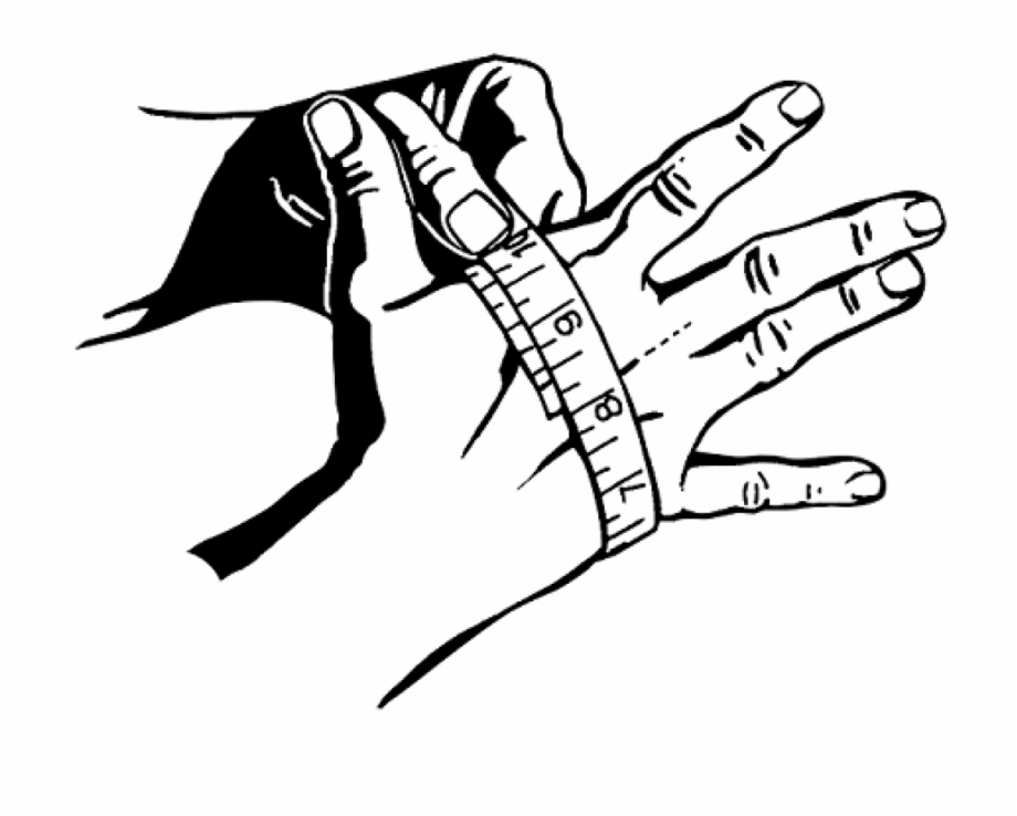 Hand Grip Drawing At Getdrawings Hand Circumference.