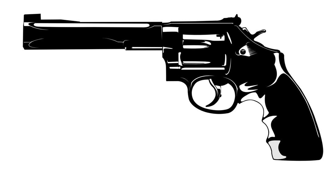 Handgun Clipart.
