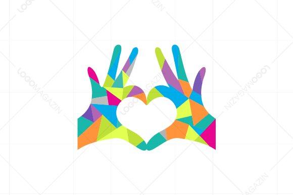 Hands Heart Love Logo.