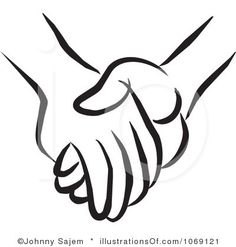Holding Hands Clipart.