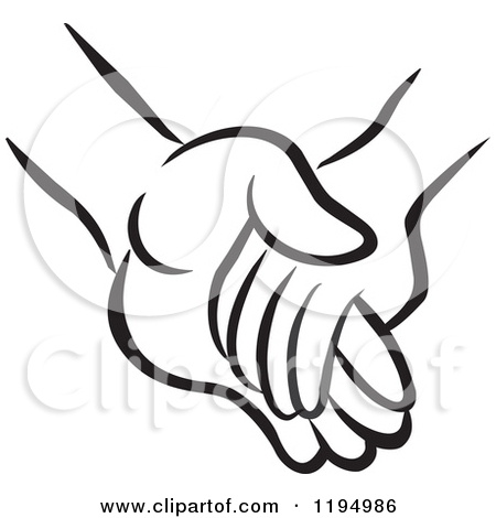 Hand holding clipart.