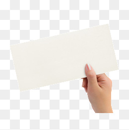 Holding White Paper Png, Vector, PSD, and Clipart With.