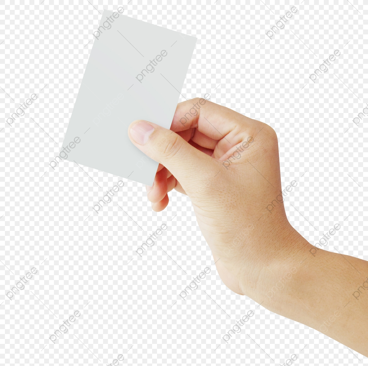 Positive Holding Paper, Card, Gesture, White Paper PNG.